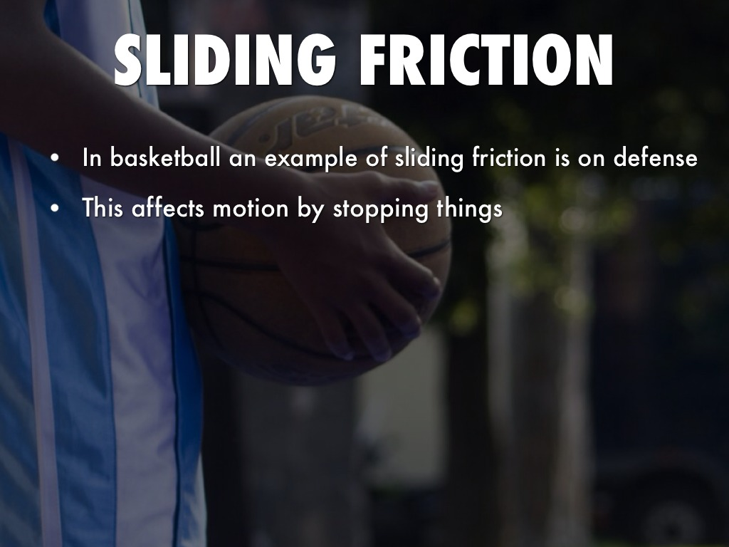 sliding friction Sliding and rolling friction are both types of resistive forces that oppose an object's motion the main difference between sliding and rolling friction is.