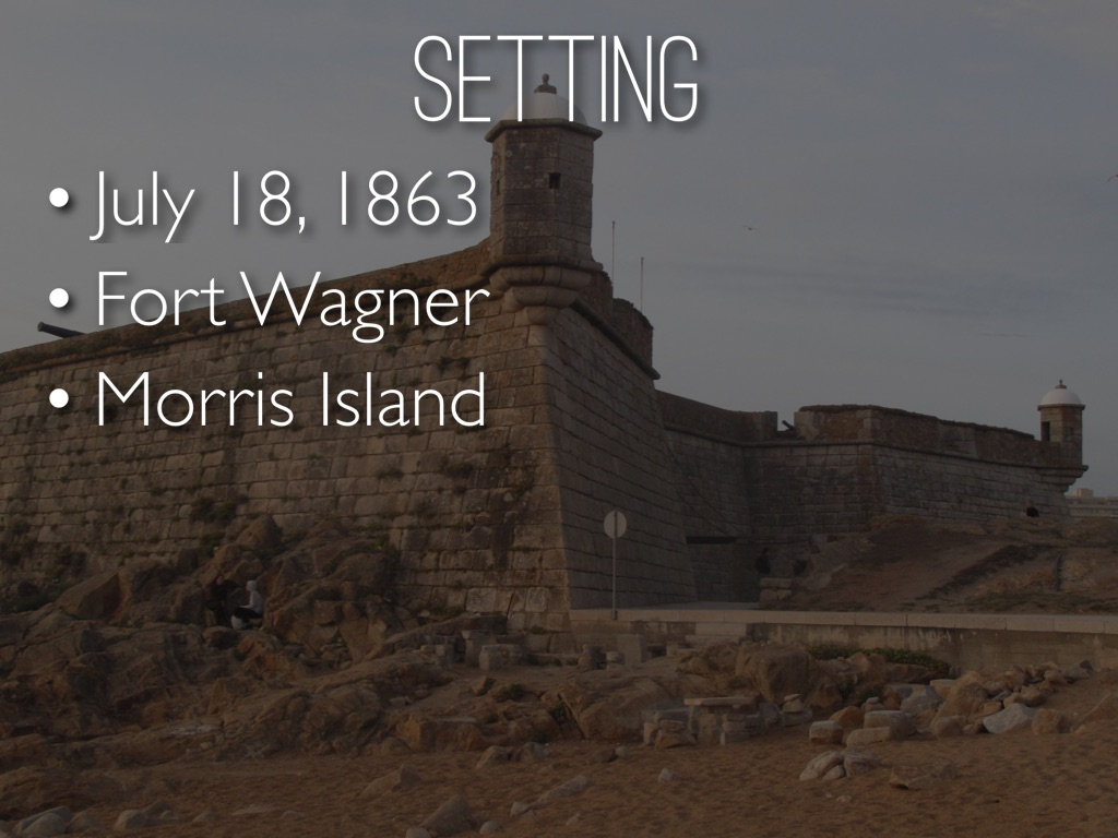 fort wagner Our battle of fort wagner page that includes history articles, information on the 54th massachusetts regiment, battle maps, historic and modern photos, helpful web.