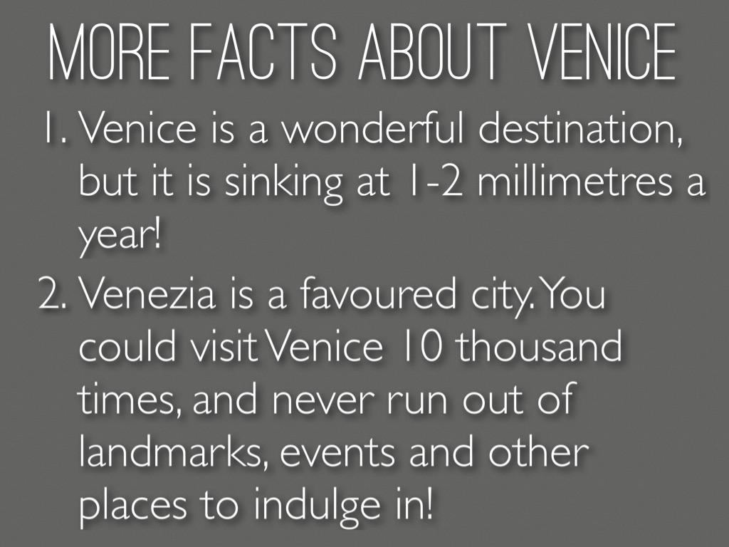 Italian - Venice by Chloe Anne
