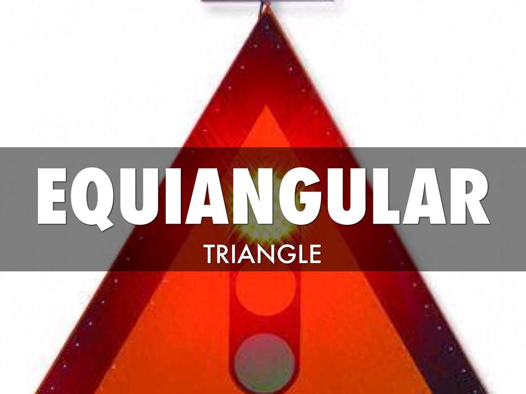 equiangular scalene triangle - photo #32