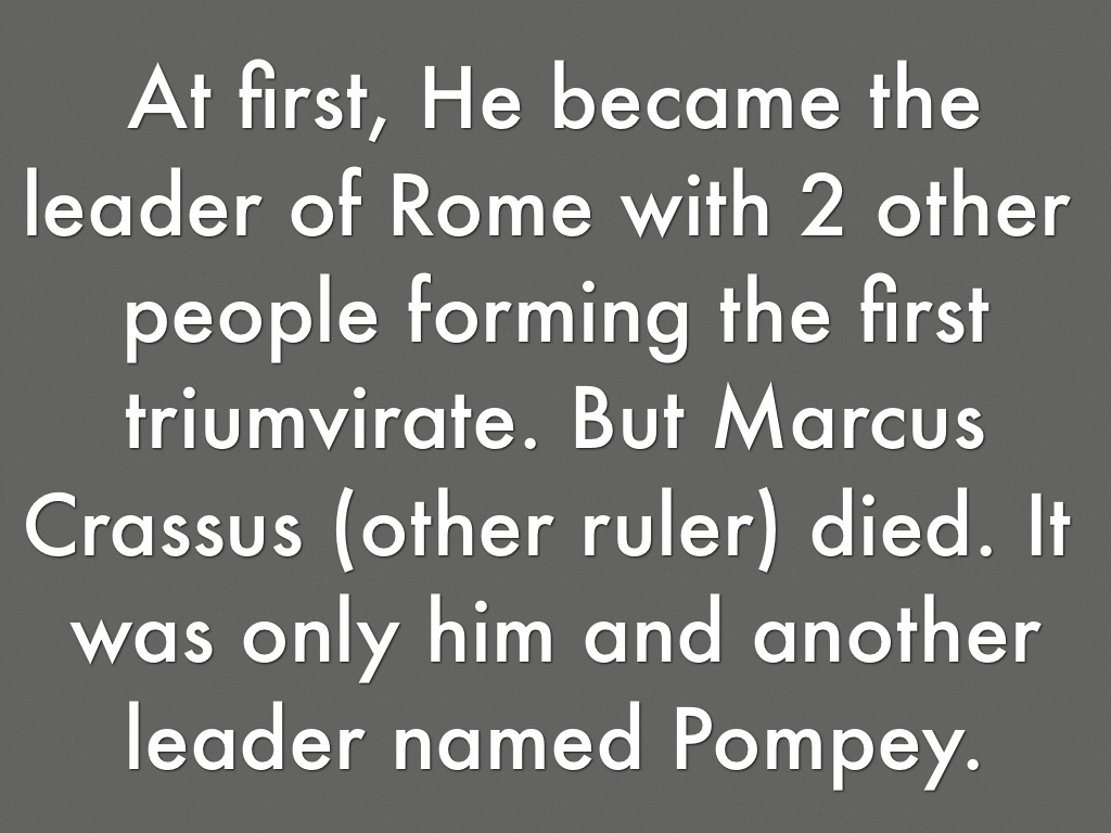 julius caesar effective leader Best answer: julius caesar was the greatest general in history he created the legendary 10th legion and never lost a battle the siege at alesia which he commanded.