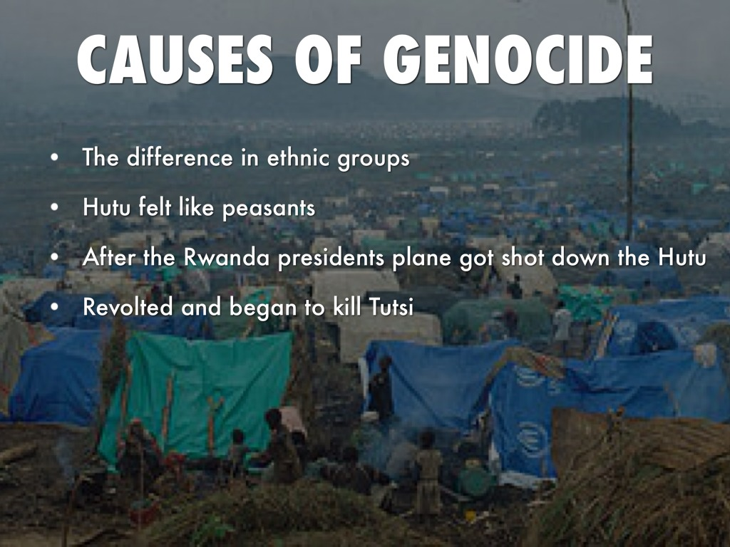 genocide of rwanda Two decades ago, the world watched in horror as rwanda was pulled apart by a  brutal genocide the international community, burned by a.