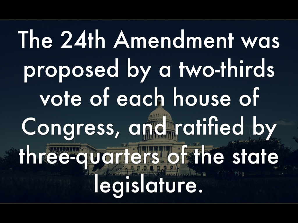 24th amendment