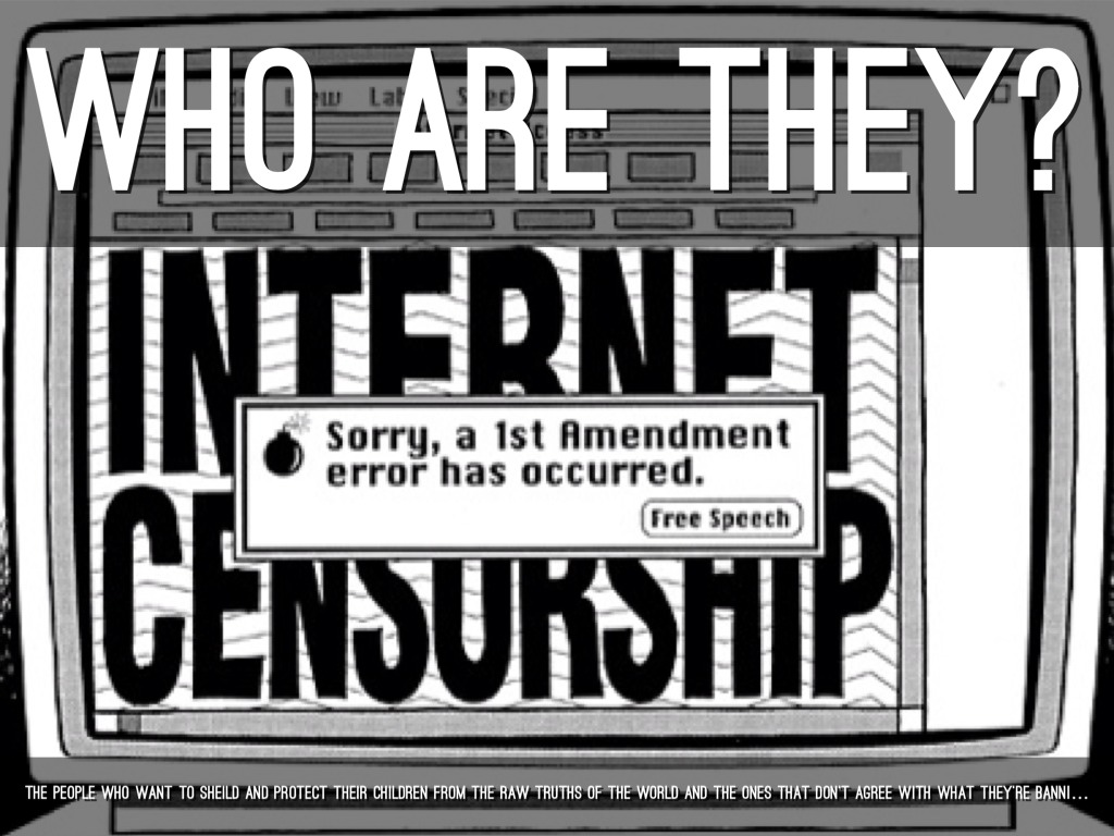 internet freedom of speech and censorship However, others think that internet censorship is a violation to rights of freedom of speech it limits free access to information which causes the society to foster ignorance in its citizens through this ignorance, people would not have knowledge and awareness on issues that take place around their environment this is not fair as everyone.