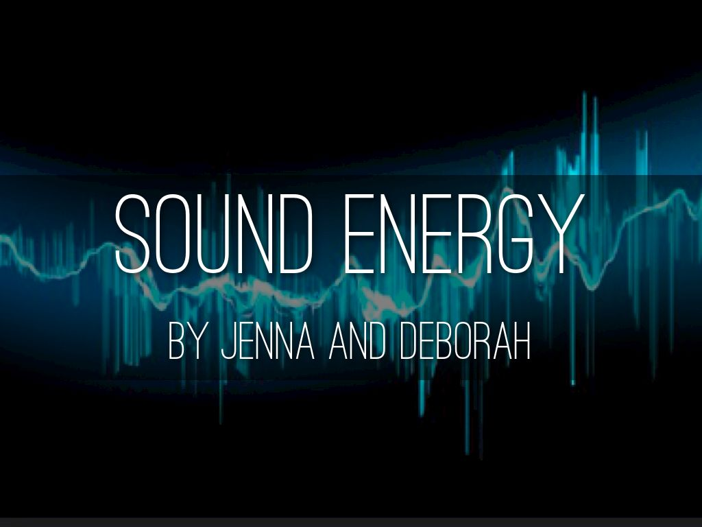 sound energy by deborah trinh