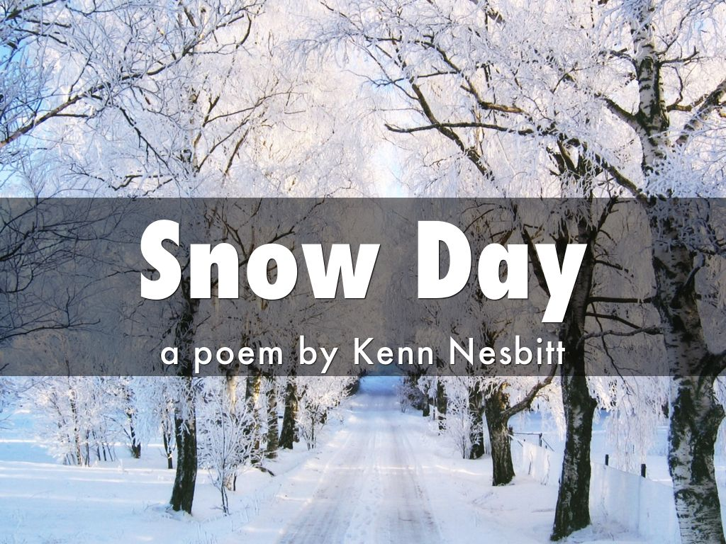 Snow Day: A Poem