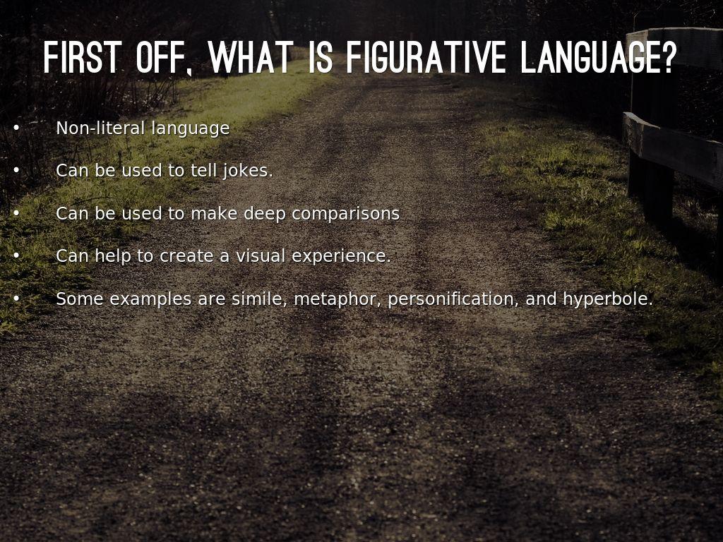 Figurative Language By Andrewrowanherrmann