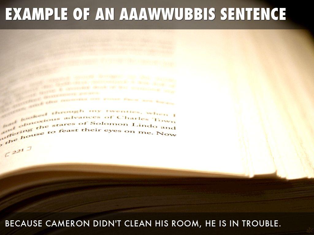 Copy of AAAWWUBBIS Sentences by teaching bytes
