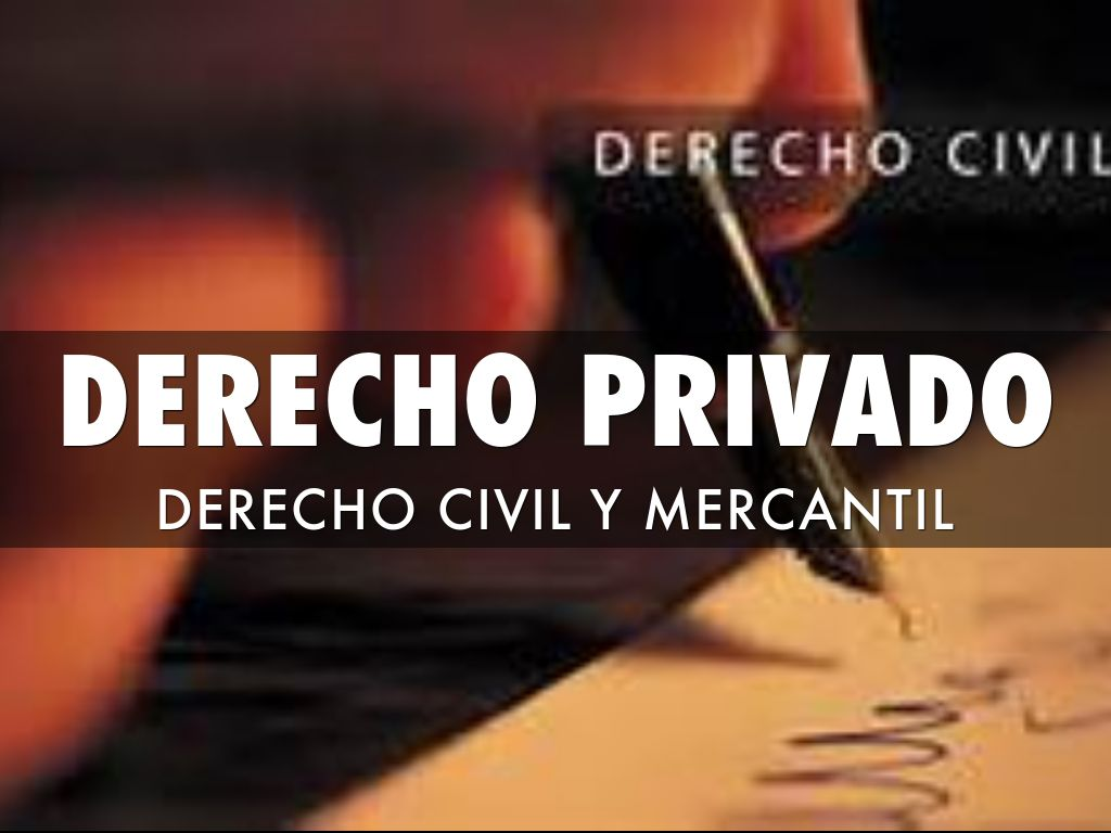 privado Derecho