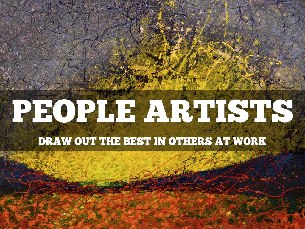 Copy of People Artists at Work