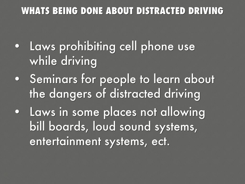 a discussion on the methods of changing the increase of the high risk behavior of distracted driving Elevated risk-taking and sensation-seeking behaviors, combined with underdeveloped driving skills and high rates of technology use, increase the likelihood that adolescents will engage in ddbs that increase their crash risk.