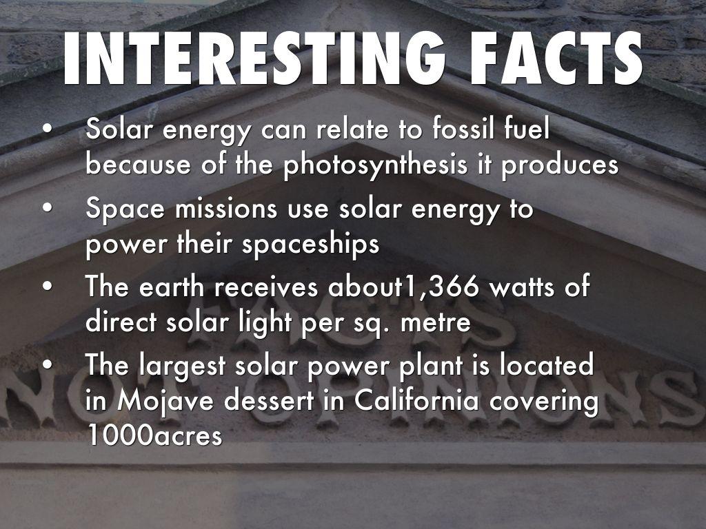 Solar Energy By Jesse Zhou
