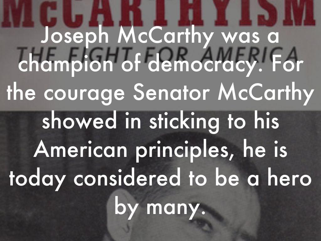 McCarthyism by Brandon Pumphrey