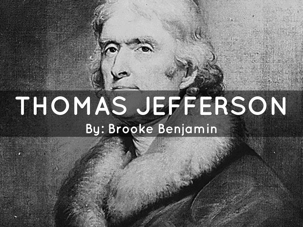 thomas jefferson outline