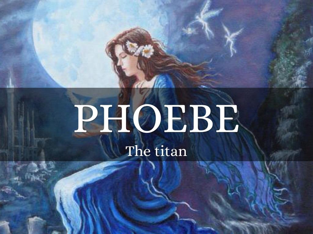 The Titan Phoebe By Eddie Rodriguez