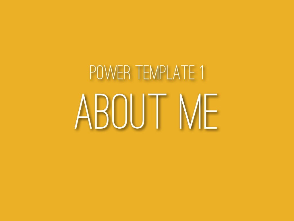 power template 1 about me by catherine carr