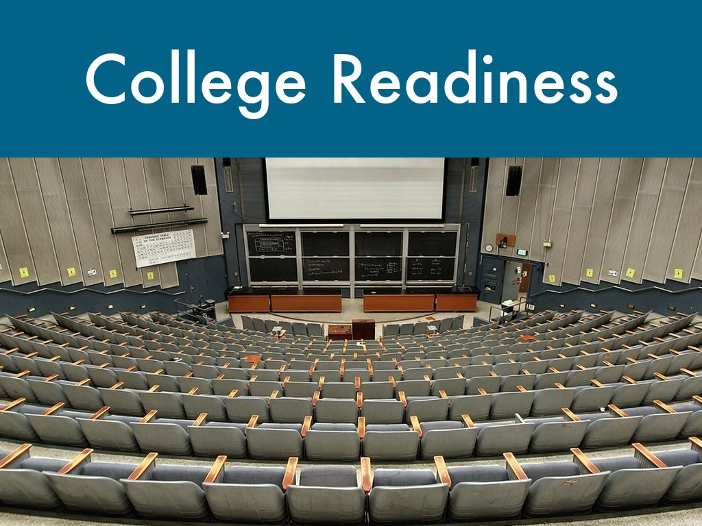 college readiness A definition of college readiness by: david t conley a list of knowledge, skills, and attributes a student should possess to be ready to succeed in entry-level college courses.