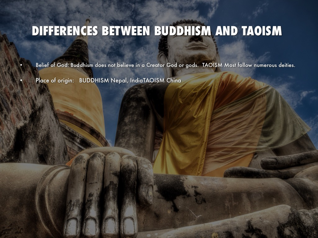 a study on taoism and buddhism beliefs