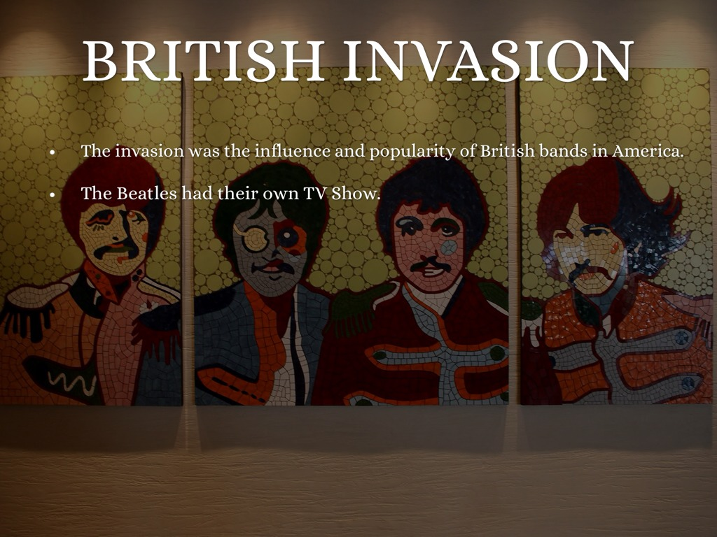 the influence of the british invasion The roman invasion of the quid pro quo was that you were expected to spend your money and influence (british museum press, 1998) roman britain.