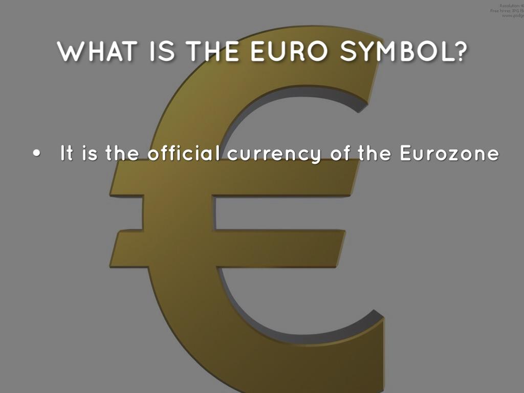 Euro Money By Jasmine Crosson
