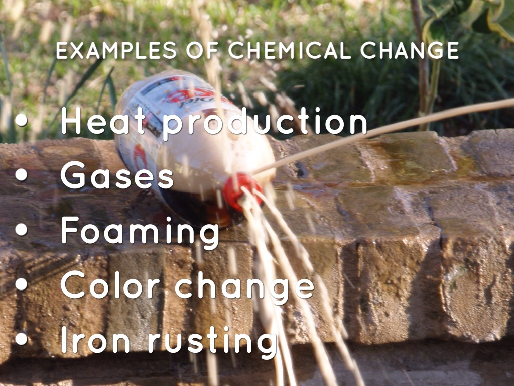 physical and chemical change by matt herberg