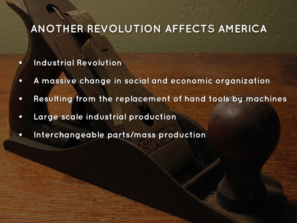 revolutions effects on american society