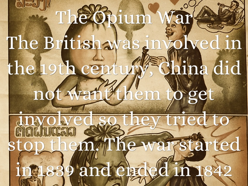 the opium war Good piece of defining history and coupled with a local museum- tranquil  atmosphere a good trip painful to get there from gz though best to get a yellow  taxi or.