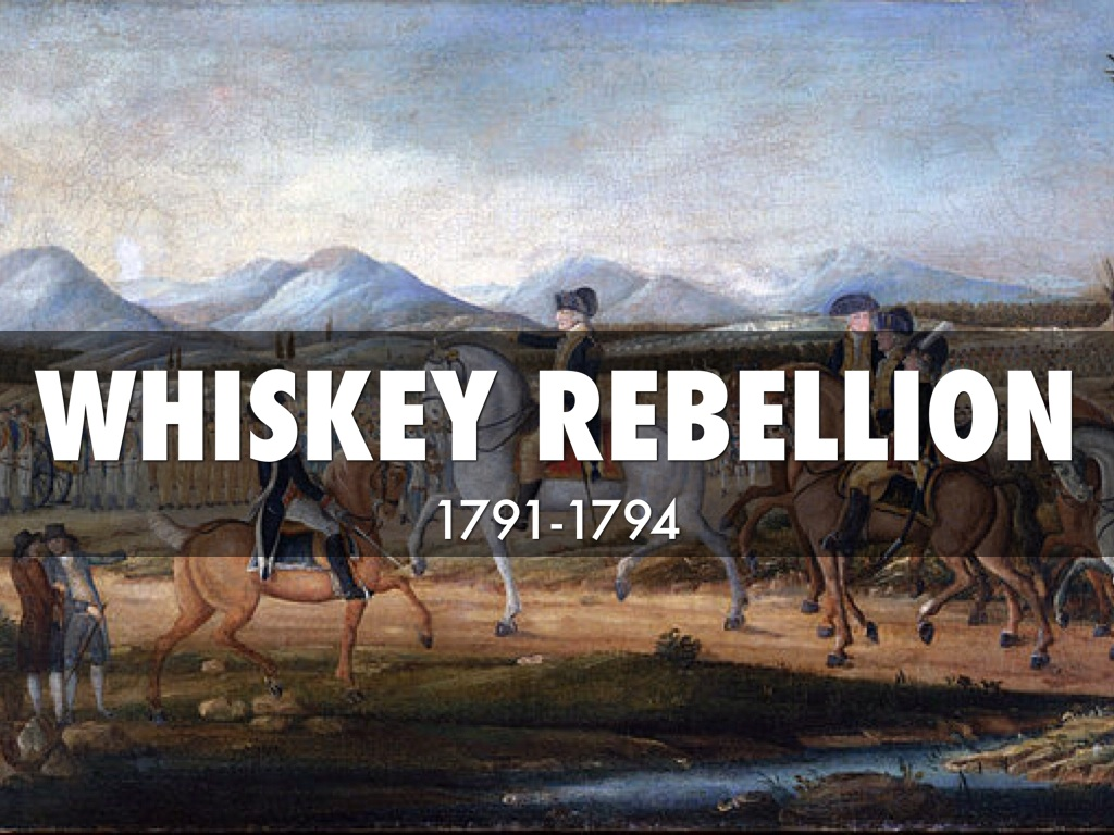 whiskey rebellion The whiskey rebellion was a joy to read: well-organized, occasionally humorous, and grippi his depiction of alexander hamilton's role in suppressing the whiskey rebellion confirmed my view that it was a good thing that hamilton, with his well-known disdain for the people's democratic impulses, was not eligible to run for the presidency.