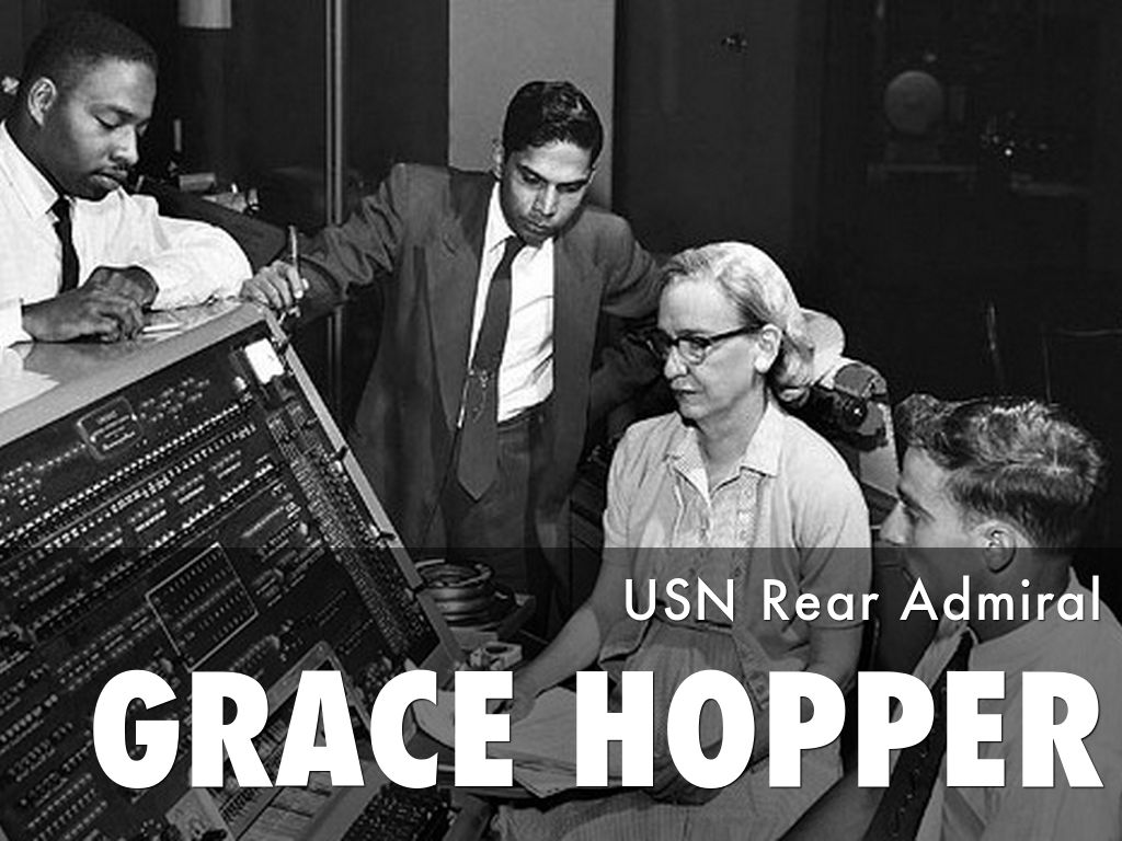 rear admiral grace murray hopper usn essay Naval history and heritage command connect with nhhc home research archives cors - command operations reports.