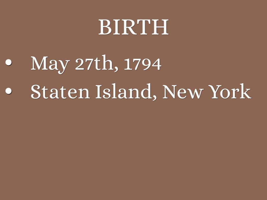 Cornelius Vanderbilt Staten Island Ferry