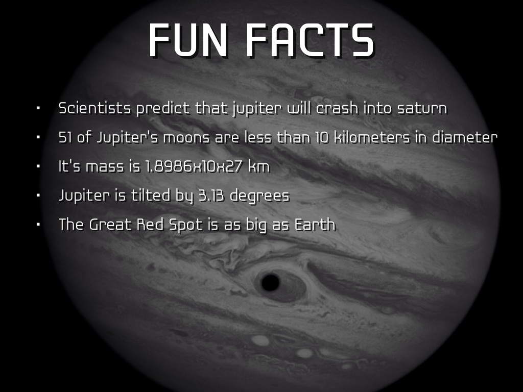 jupiter facts Did you know that jupiter is the largest planet in our solar system well it is, and it's also quite famous too, well not famous like an actor.