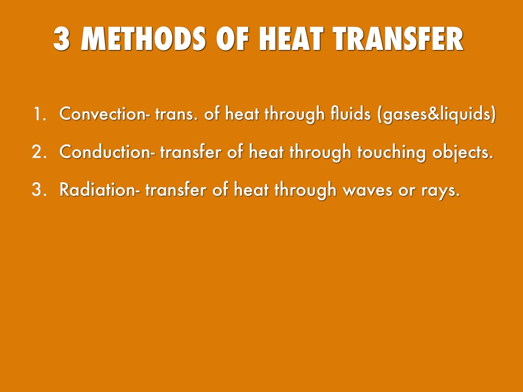 Heat Transfer Presentation by Mariahcari Davis