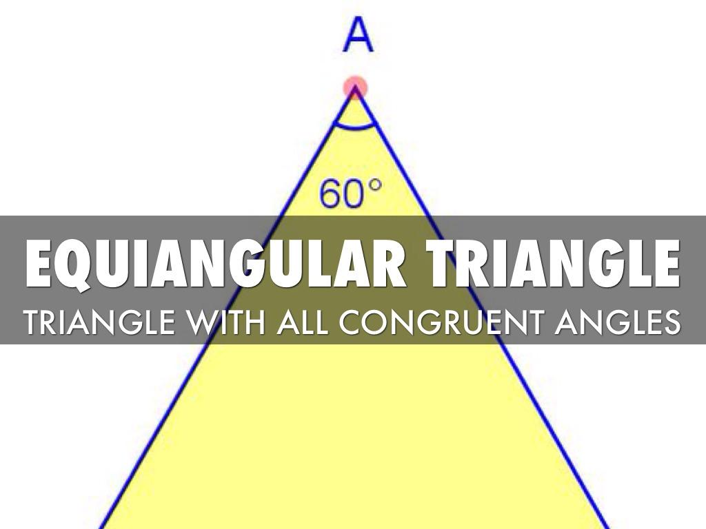 equiangular scalene triangle - photo #46