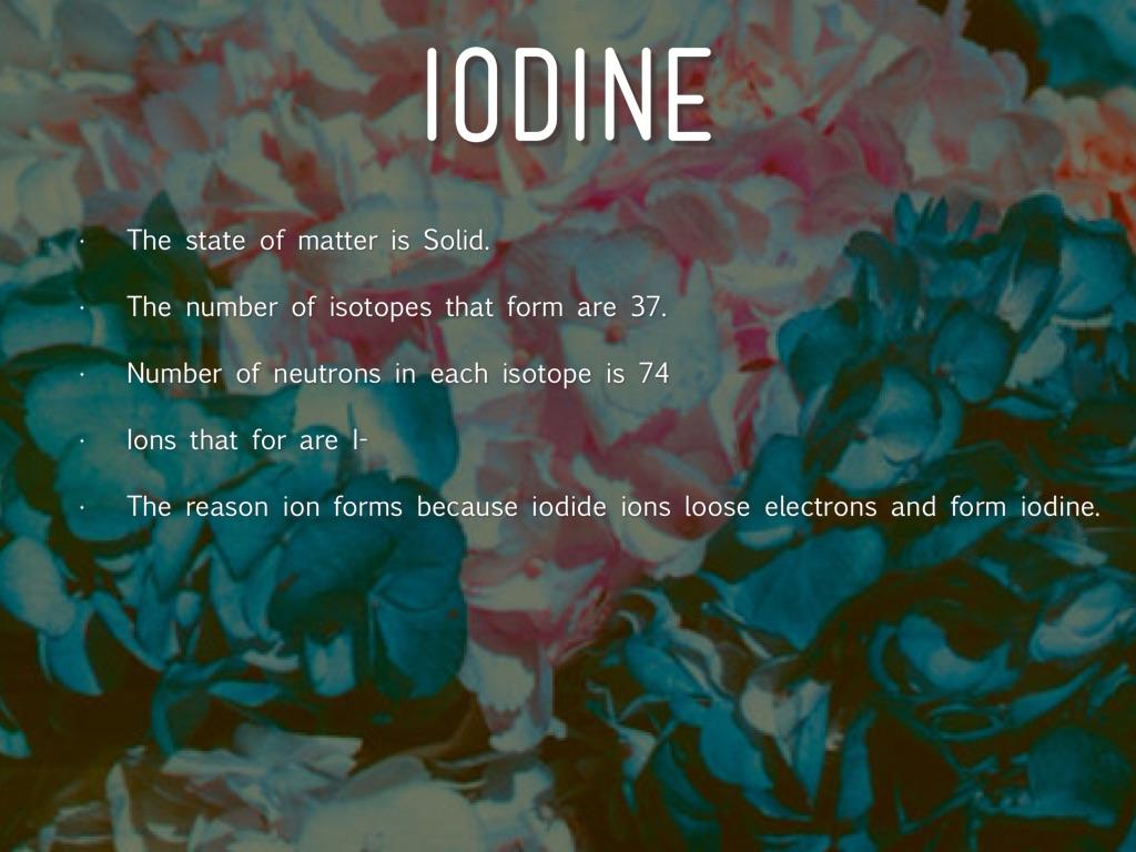 Bernard Courtois Discovered Iodine