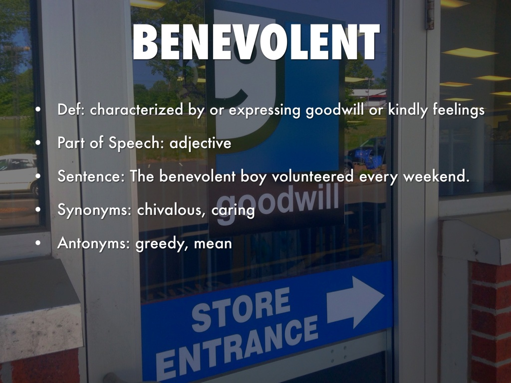 Hansson: Apple really what is the antonym for benevolent Find