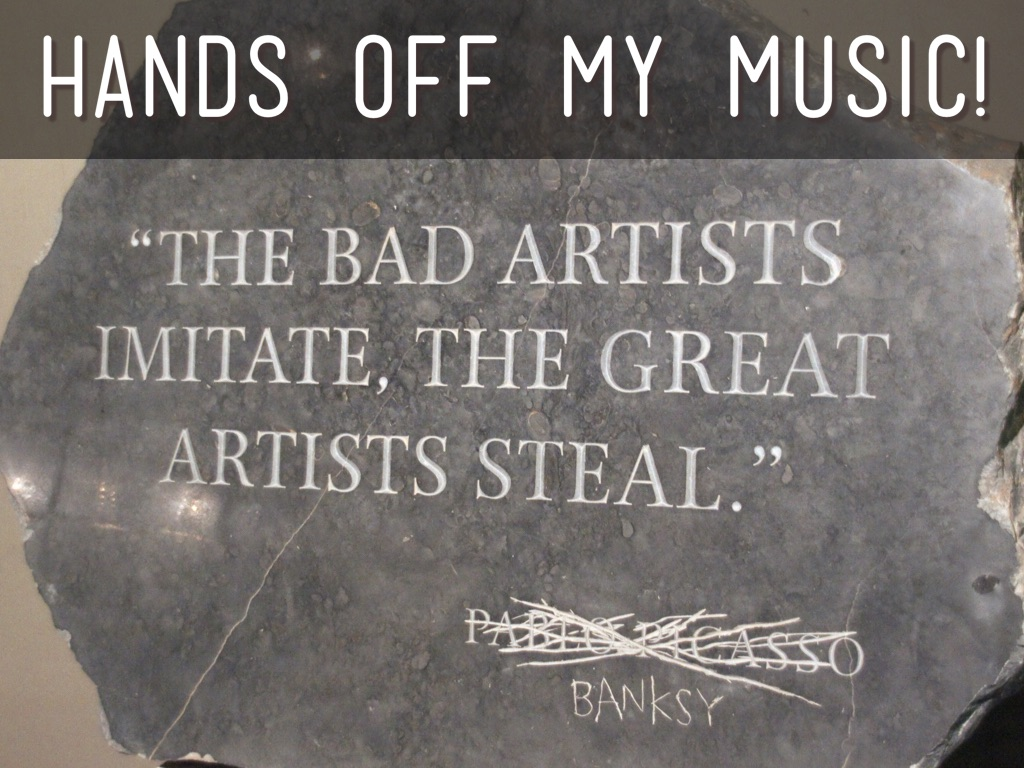 Hands Off My Music!