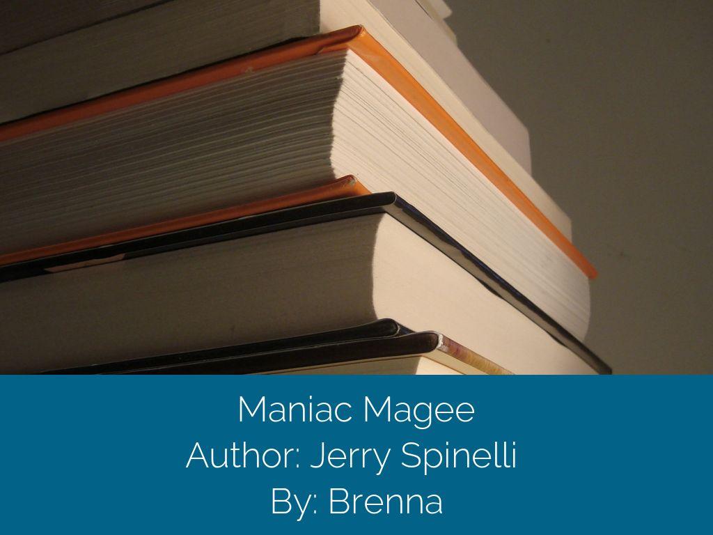 maniac magee by brenna rodman