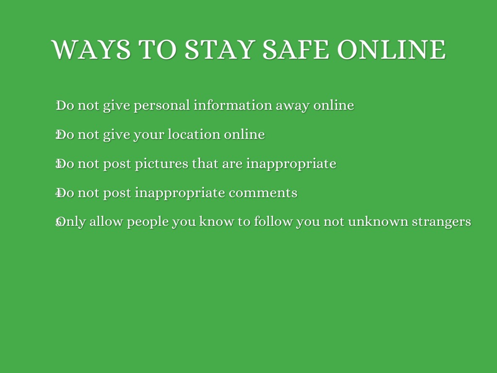 staying safe online by mikel mccann