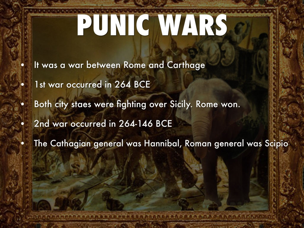 first punic war between rome and Initially, rome and carthage were well-matched rome had recently come to dominate the italic peninsula, while carthage controlled parts of spain and northern africa, sardinia, and corsica sicily was the original area of contention at the end of the first punic war, carthage releases its hold on.