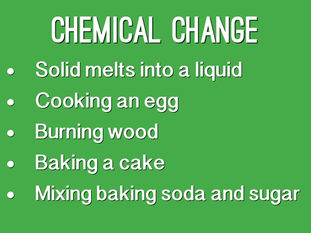 Physical Change Vs Chemical Change By Eli A By Matt