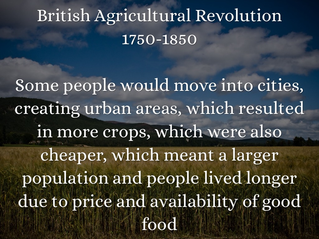 agricultural and urban revolutions Before digging up for answers, let's have a quick look at the three major  agricultural revolutions that paved a way to urban farming of our age.