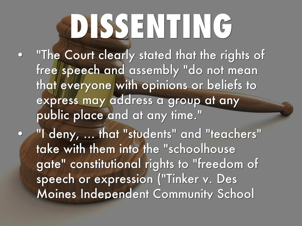 analysis of freedom of dissent The philosophy of dissent and democracy has also inspired our freedom movement and defines india's constitutional democracy, which is predicated on the people's right to call state power to account, albeit within the constitutional framework.