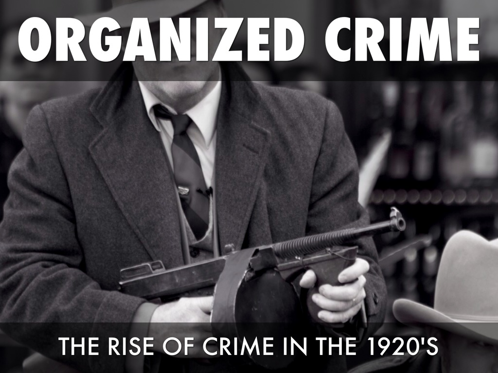 oraganized crime The organized crime and gang section (ocgs) within the criminal division was established in late 2010 as a merger of the (former) organized crime and racketeering section (ocrs), gang unit, and the national gang targeting, enforcement & coordination center (gangtecc.