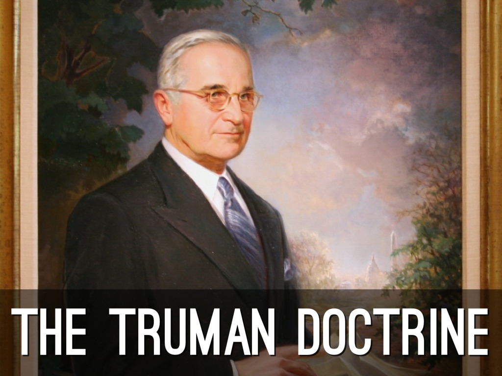 eisenhower truman doctrine study guide