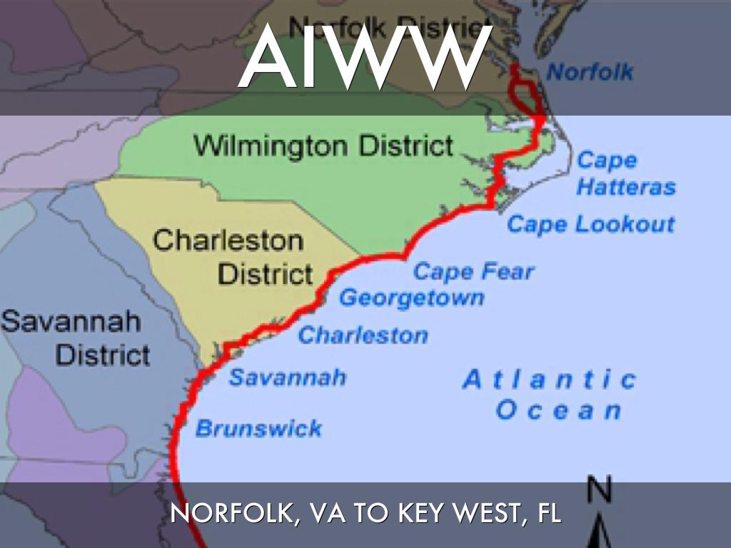 Florida West Coast Intracoastal Waterway Map.Atlantic Intracoastal Waterway Chart Tekil Lessecretsdeparis Co