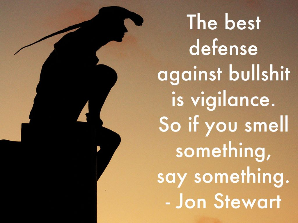 Quotable quote: Vigilance