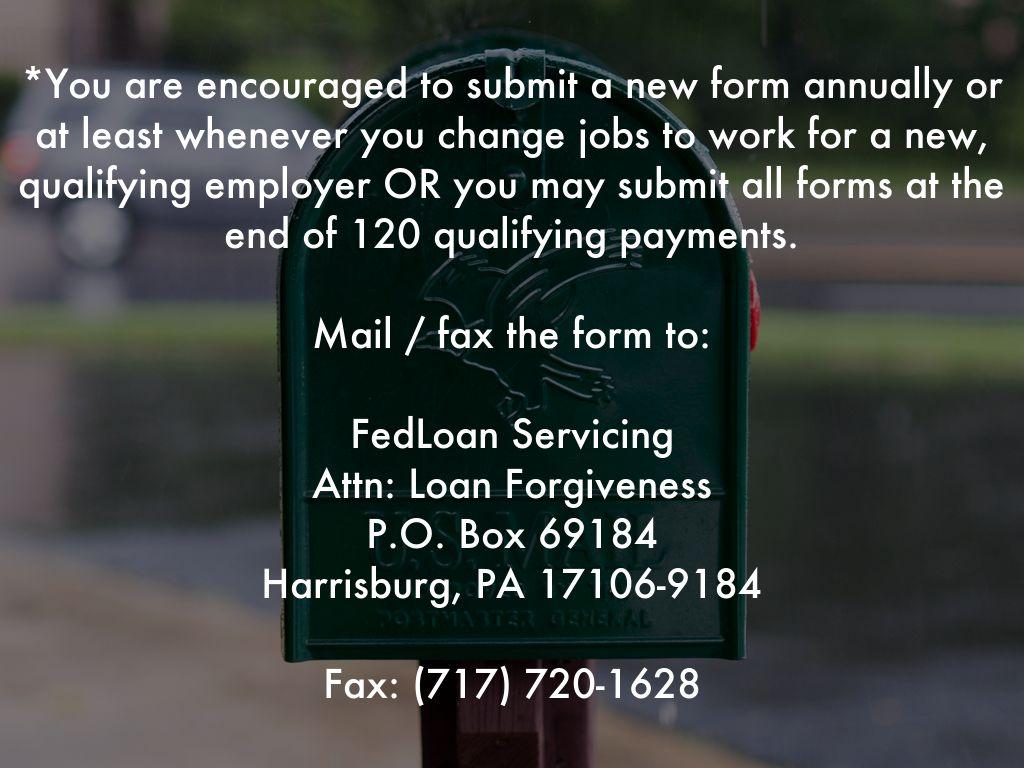 Public Service Loan Forgiveness by Jamie Schombs