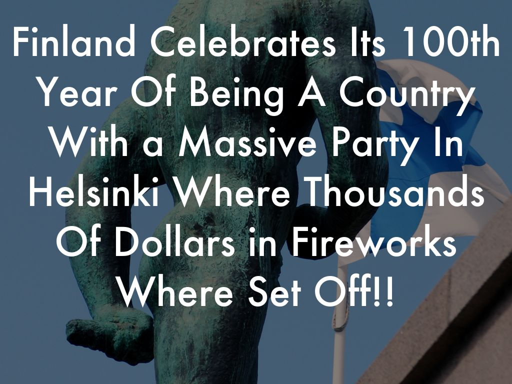 Finland New Year Tradition by Sean Martin