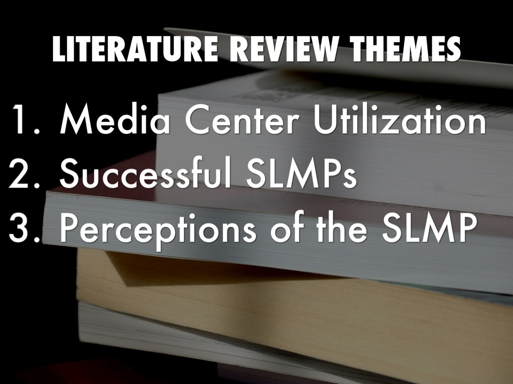 literature review on media research methods