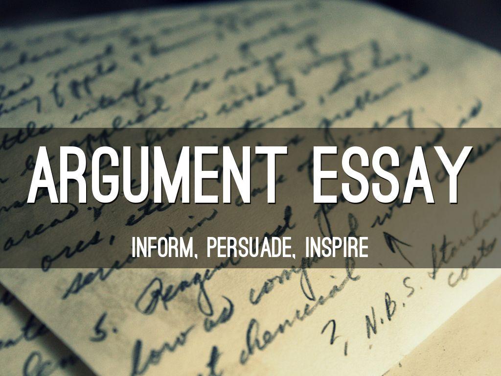 was ist ein argumentative essay